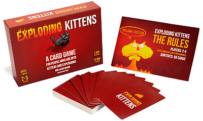 AU42.95 • Buy Exploding Kittens Original Edition Card Game NEW