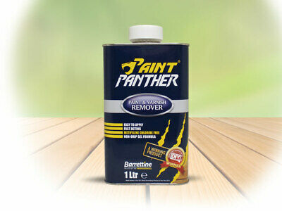 £8.99 • Buy BARRETTINE PAINT PANTHER PAINT AND VARNISH REMOVER NON DRIP GEL FORMULA 250ml/1L