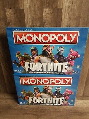 $25.72 • Buy 2 Monopoly: Fortnite Collectors Edition Fast-Dealing Trading Board Game DEALS