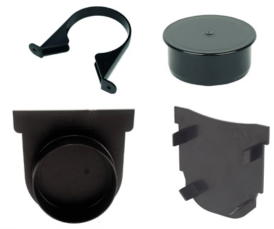 Channel Drain Stop End, Soil Pipe Clip, Channel Drain Running Outlet • 5.27£