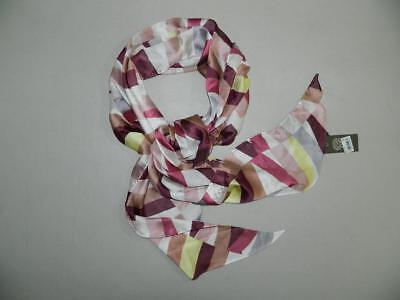 $0.01 • Buy Vince Camuto Women's Multi-Color Scarf One Size 100% Silk NWT RV $28 B61