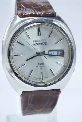 $ CDN613.36 • Buy Seiko 5 Actus 6106-7460 Vintage 25 Jewels Used Automatic Mens Watch Auth Works