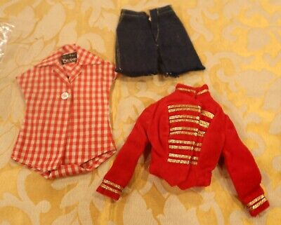 $ CDN14.22 • Buy Vintage Early Mattel Barbie Doll Clothes Lot
