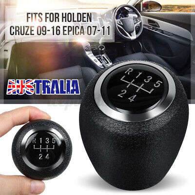 AU21.99 • Buy 5 Speed Gear Shift Knob Lever Stick Shifter For Chevrolet Holden Cruze Epica New