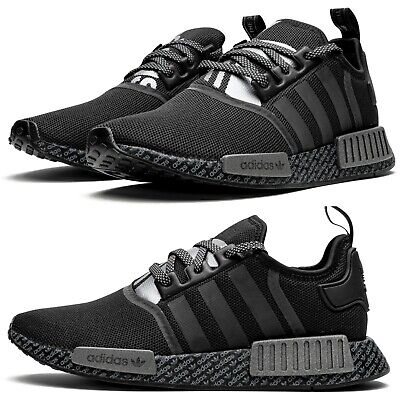 $ CDN158.56 • Buy New ADIDAS NMD R1 BOOST Athletic Sneaker Mens Casual Shoes Black All Sizes