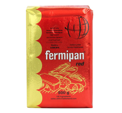 Fermipan Red 500g Instant Dried Yeast - Bakers Bread Making • 6.49£