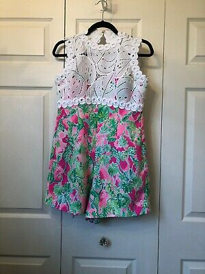 $13.01 • Buy Lilly Pulitzer Romper 8