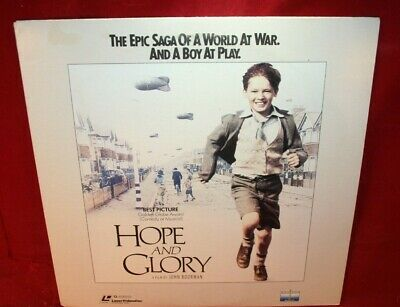 AU5.23 • Buy Laserdisc J * Hope And Glory * Sarah Miles David Hayman Sebastian Rice-Edwards