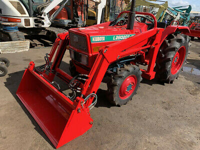 AU15950 • Buy Used Kubota L2602DT Tractor With Front End Loader