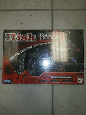 $15 • Buy Risk Board Game Transformers Cybertron Battle Edition Parker Brothers NIP 2007