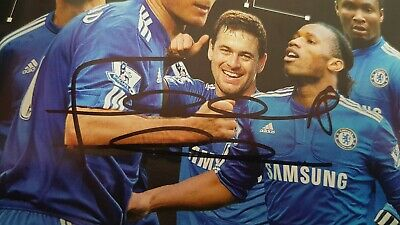 £49.99 • Buy Frank Lampard, John Terry , Drogba Signed Fa Cup Programme Chelsea Football