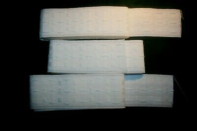 3 Lenghts Curtain Rufflette Tape 3m X 75mm • 1.49£