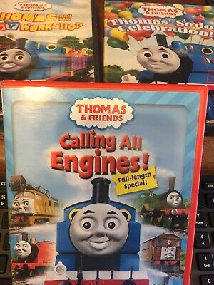 $ CDN1.40 • Buy Lot Of 3 Thomas The Train DVDs Calling All Engines