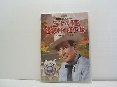 £7.21 • Buy State Trooper The Complete First Season. Season 1. 4 DVD Set. Rod Cameron. NEW