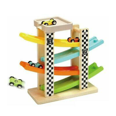Wooden Race Track Car Racer Ramp Toy For 1-2 Year Boy Gifts Girl Old Q2C2 • 11.09£