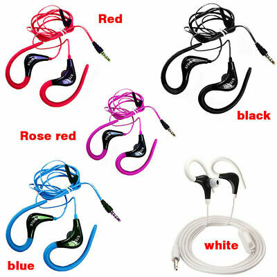 In Ear Clip On W/ Mic Over Earphone Headphone For Running Jogging Super • 2.88£