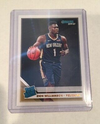 $11.65 • Buy Zion Williamson 2019-20 Donruss Rated Rookie (g)