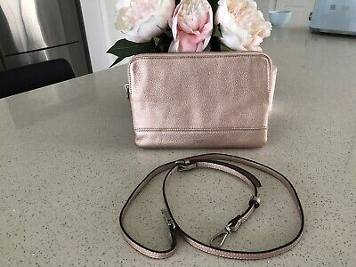 AU30 • Buy Oroton Double Clutch Rose Gold