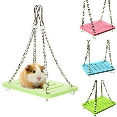 £1.33 • Buy Guinea Pig Pet Small Animal Hamster Toy Swing Cage M9J0 Accessories Hanging H7S8
