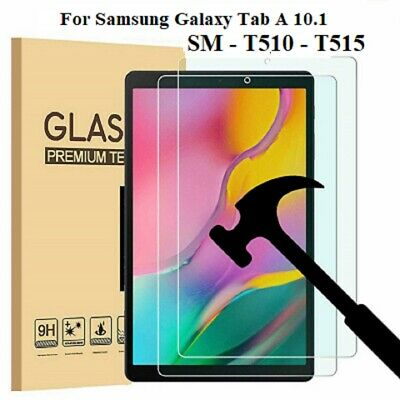 Screen Protector Tempered HD Glass  For Samsung Galaxy Tab A 10.1 SM-T510 T515  • 5.75£