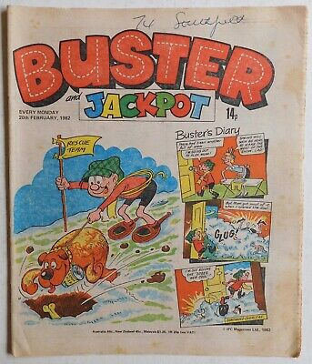 BUSTER COMIC - 20th February 1982 • 2.99£