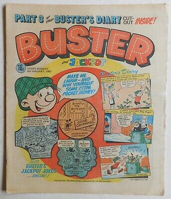BUSTER COMIC - 8th January 1983 • 2.99£