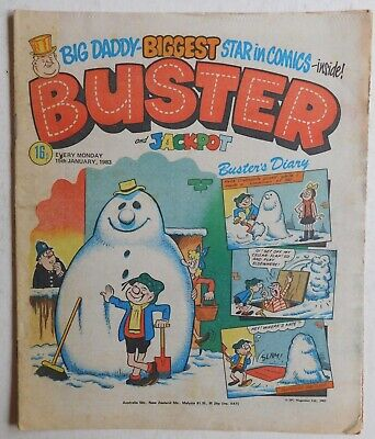 BUSTER COMIC - 15th January 1983 • 2.99£