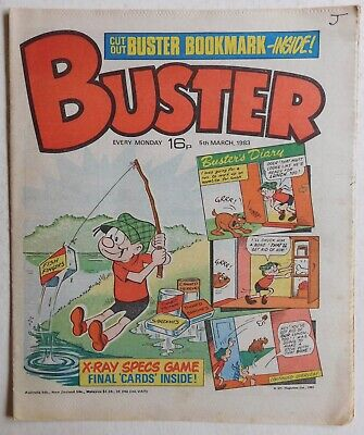 BUSTER COMIC - 5th March 1983 • 2.99£