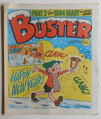 BUSTER COMIC - 7th January 1984 • 2.99£