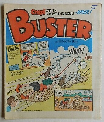BUSTER COMIC - 4th February 1984 • 2.99£