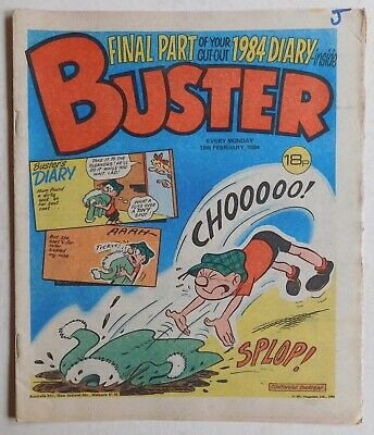 BUSTER COMIC - 18th February 1984 • 2.99£