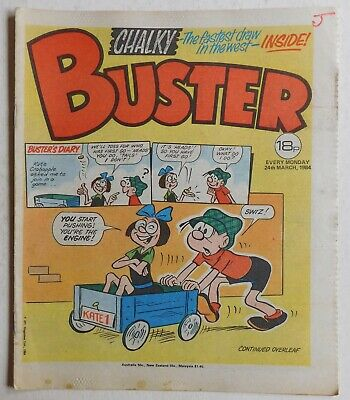 BUSTER COMIC - 24th March 1984 • 2.99£