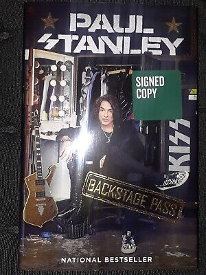 $34.99 • Buy Paul Stanley: Signed Book Backstage Pass Barnes & Noble Kiss Hardcover Autograph