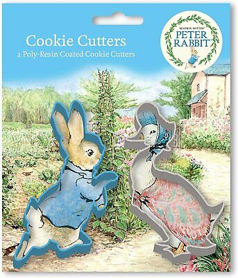 Peter Rabbit Poly Resin Coated Cookie Cutter Set • 3.99£