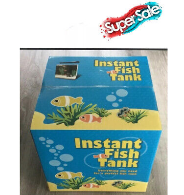 AU89.99 • Buy 43 Ltr Instant Fish Tank Includes Everything Except Lid,fish & Stand. Brand New.