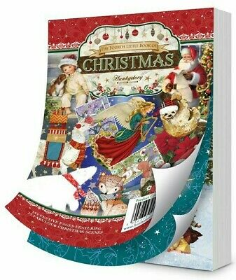 Hunkydory The 4th Little Book Of Christmas SAMPLE Pk 24 Sheets Card Making  • 3.15£
