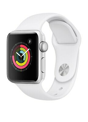 $ CDN157.95 • Buy Apple Watch Series 3 38 Mm Smartwatch (GPS Only, Silver Aluminum Case, White...