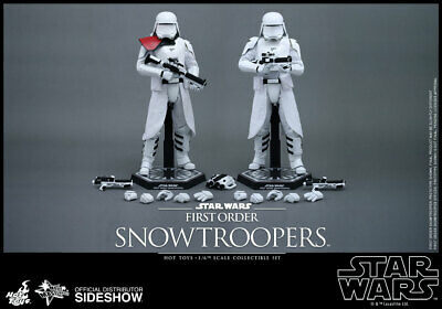 $ CDN511.45 • Buy Star Wars The Force Awakens 12 Inch MMS First Order Snowtroopers Hot Toys