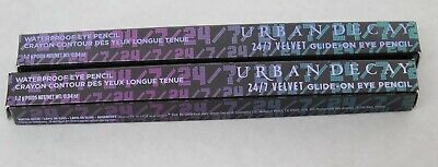 $19.99 • Buy LOT 2 Urban Decay 24/7 Velvet Glide-On Pencil Cult .04oz New Free Shipping