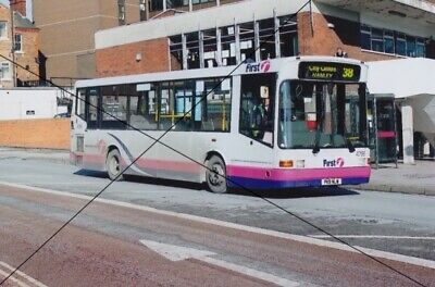 Bus Photo, First Stoke Potteries Photograph Picture, Marshall Dennis Dart • 0.40£