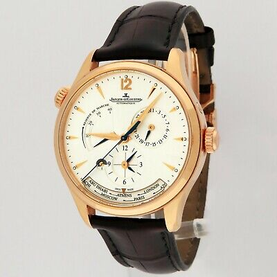 $ CDN16324.20 • Buy Jaeger LeCoultre Master Geographic 18K Pink Gold Q1422521 176.2.29.S 39mm B/P