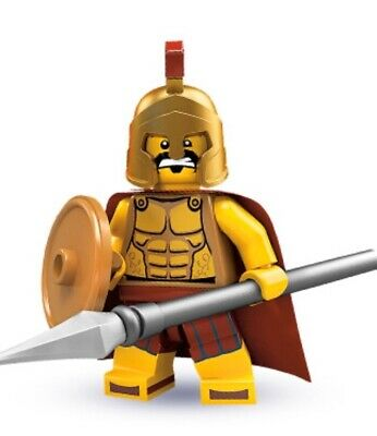 £25 • Buy Lego Minifigures Series 2 SPARTAN WARRIOR - New And Sealed (b)