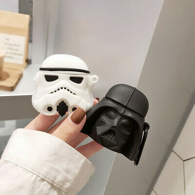 $ CDN7.83 • Buy For AirPods Case Protective 3D Star Wars Silicone Earphone Charging Cover