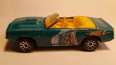 $2 • Buy Matchbox Wille E. Coyote 1969 Chevrolet Camaro Convertible SS396 - Loose