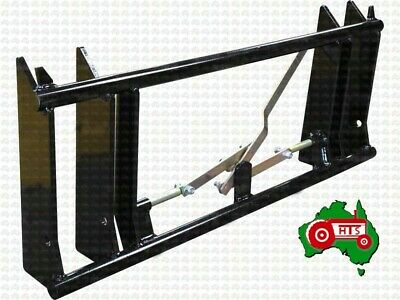 AU695 • Buy Tractor Euro Quick Hitch Change Frame Head Stock Bracket Loader Weld On Type