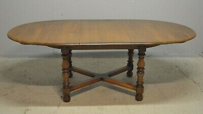 Dining Table Ercol Woburn D End Extending Elm Golden Dawn Delivery Available • 245£