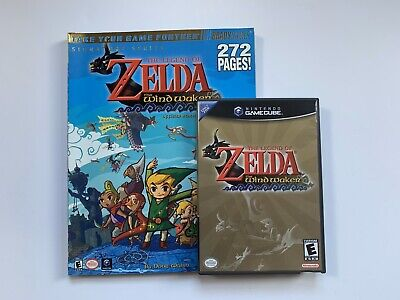 $75 • Buy Zelda The Wind Waker GameCube CIB! + Prima Strategy Guide!