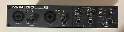 $100 • Buy M-Audio ProFire 610 Digital Recording Interface- Perfect For BACKING TRACKS Too!