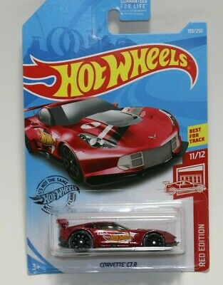 $6.88 • Buy Hot Wheels Red Edition Corvette C7.r Factory Sealed 2019 Target Exclusive 11/12
