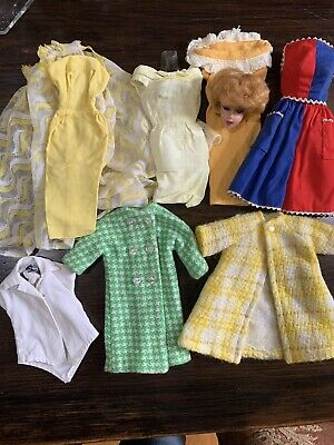 $ CDN7.07 • Buy Vintage Barbie Clothes Lot And Head